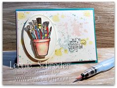 Hello and welcome to another week of Freshly Brewed Projects from the Latte Girls! This week we are sharing ways to create your own Backgrounds with Stamping. I do love to share different ways to u…