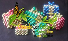 NAVIDAD - CREANDOCONADRIANA Bead Crafts, Christmas Ornaments, Beads, Holiday Decor, Fun, Log Projects, Light Installation, Napkin Holders, Holiday Wreaths