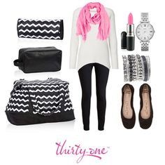 Travel in style with this Thirty One Retro Metro Weekender. Available @ www.mythirtyone.com/470235