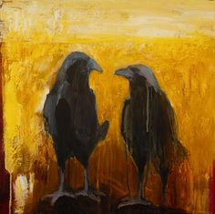 Two Ravens: Mates # 6 by Christine MacDonald