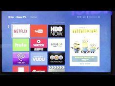 Haier Roku TV - Menu Navigation - CES 2016 - YouTube