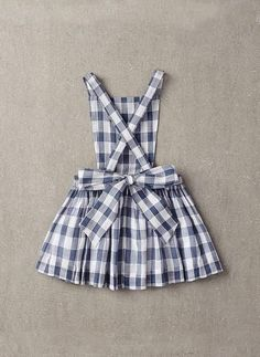 Nellystella Ella Dress in Checker - N15F012