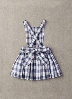 Nellystella Ella Dress in Checker- N15F012