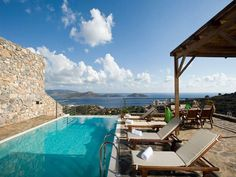 Located in cosmopolitan Elounda - Seven (7) luxury Villas with private swimming pool and EOT license for sale, equipped to high standards with all contemporary amenities, offering a comfortable setting for the owners...