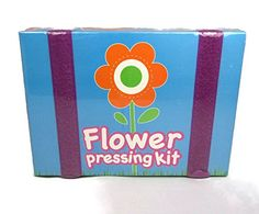 Kids' Flower Press Kits - Childrens Arts  Crafts Flower Pressing Kit * You can get more details by clicking on the image.