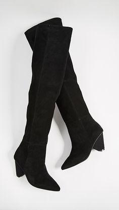 49146bb6c402 Jeffrey Campbell Senita Cone Heel Boots