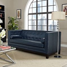 Imperial Sofa In Blue