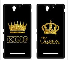 >> Click to Buy << King Queen Coque Cover Cases for iPhone 4 4s 5 5s SE 5c 6 6s Plus SONY Xperia Z Z1 Z2 Z3 Z4 Z5 MINI M2 M4 C3 C4 C5 T2 T3 #Affiliate