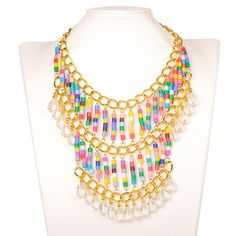 PE DIY Melty Beads Fuse Beads Refills Statement Necklace from Pandahall.com  #pandahall PandaHall Promotion: use coupon code MayPINEN10OFF for 10% off for your orders, valid time from May 18 to May 31.
