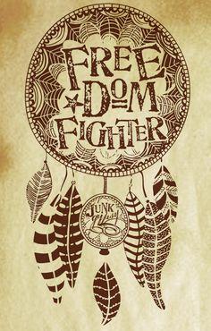 Freedom FIghter - short sleeve slub | gypsyville