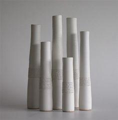 Rupert Spira combines ceramic vessels with poetic texts