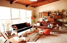Why it Works: Persimmon and Tan | Rue, Color Combinations