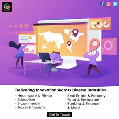 Delivering Innovation Across Diverse Industries. We are Execula LLC offering #ITservices for all your digital needs #Healthcare & #Fitness #Education #Ecommerce #Travel & #Tourism #RealEstate & #Property #Food & #Restaurant #Banking & #Finance Travel And Tourism, Ecommerce, Health Care, Innovation, Finance, Family Guy, Real Estate, Restaurant, Education