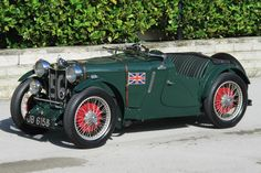 1934 MG PA/B Le Mans Works Racing Car