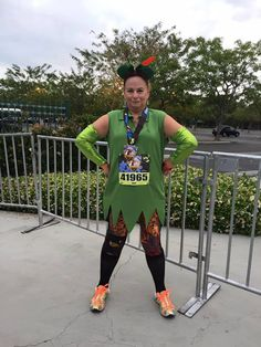Barb Green said Muddbusters rule! How adorable is she in this #PeterPan #runningcostume? Get yours here: http://sparkleskirts.com/search?q=muddbusters