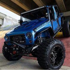 off road truck bad ass Jeep Jk, Auto Jeep, Jeep Rubicon, Jeep Cars, Jeep Wrangler Unlimited, Jeep Truck, Cool Jeeps, Cool Trucks, Big Trucks