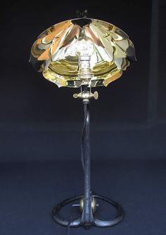 William Morris Era Antique WAS Benson Lamp.