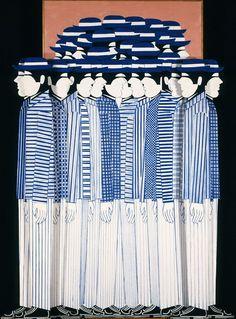 Γαϊτης Γιάννης – Giannis Gaitis [1923-1984]   paletaart - Χρώμα & Φώς Classical Period, Classical Art, Greece Painting, Mediterranean Art, Hellenistic Period, Greek Design, Greek Art, Collage Art, Collages