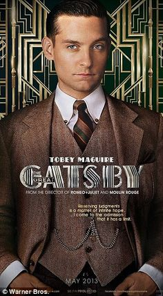 Baz Luhrman's THE GREAT GATSBY releases a slew of character posters to whet your whistles and gnash your fangs on. THE GREAT GATSBY – if I have to give you a synopsis about this stor… Jay Gatsby, Gatsby Man, Gatsby Style, Gatsby Theme, 1920s Style, The Great Gatsby Characters, The Great Gatsby Movie, Great Gatsby Fashion, Great Gatsby Party