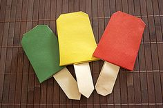 Ijsjes vouwen / Une glace en origami Diy For Kids, Crafts For Kids, Diy Crafts, Jaba, Techno, School, Paper, Hui, Strand