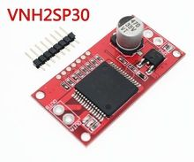 Free Shipping! Monster Moto Shield VNH2SP30 stepper motor driver module high current 30A for arduino(China (Mainland))
