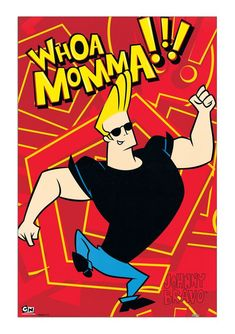 Johnny Bravo is the narcissistic, buff, intellectually challenged protagonist of the Johnny Bravo TV Series. Time Cartoon, Cartoon Shows, Cartoon Ideas, Johnny Bravo Cartoon, Johny Bravo, Comic Script, Old Cartoon Network, Cartoon Painting, 90s Cartoons