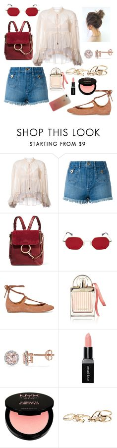 """""""chic boho"""" by eshly995 ❤ liked on Polyvore featuring Chloé, Allurez, Smashbox, NYX, GUESS and Kate Spade"""