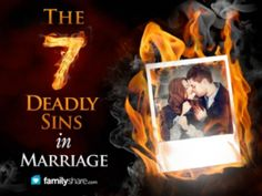 7 deadly sins in marriage
