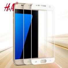 0.26 мм Полная Защита Экрана Закаленное Стекло Для Samsung Galaxy S7 G9300 Экран Протектор Фильм 9 H Твердость Взрывозащищенный