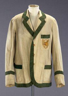 Rowing Jacket 1932 Cambridge Fashion Museum, Bath, UK