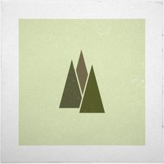 #4 Trees (who said it had to be all abstract?) – A new minimal geometric composition each day