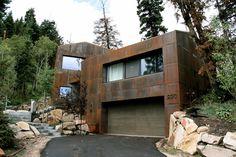 PCD+Build (США). Ржавый дом в Юте  :  «Д.Журнал» — журнал о дизайне и архитектуре