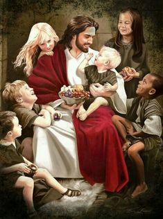 Let all the Children come unto me & let them suffer not - I Love everyone with a complete Love