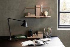 Andersen Furniture online forhandler - køb Wood Wall hylder her Wood Wall Shelf, Wall Shelves, Online Furniture, Wood Furniture, Desk Lamp, Table Lamp, Hallway Inspiration, Design Studio, Leather Design