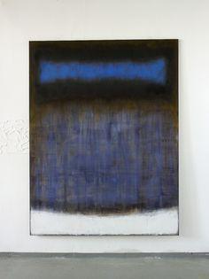 Christian Hetzel blue inside 2015 - 190 x 145 cm - Mischtechnik auf Leinwand