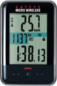 CatEye Wireless Cycling Computer Micro Wireless CC-MC200W: Black (CMW2) #CatEye