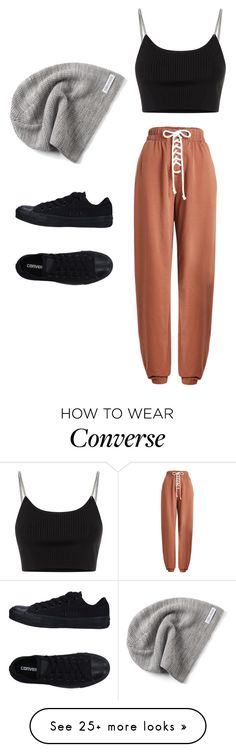 """Untitled #724"" by skittles1324 on Polyvore featuring Puma, Converse and Alexander Wang"