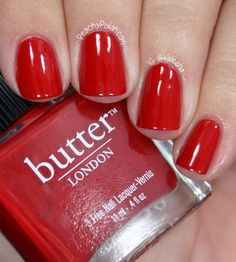 butter LONDON — Pillar Box Red (Core Collection)