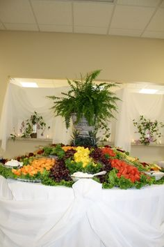fruit displays for wedding receptions | Beautiful Fruit & Vegetables ...