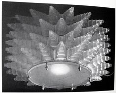 Oviatt Building chandelier by Rene Lalique 1928