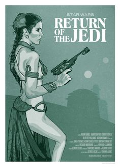 Return of the Jedi Poster by Old Red Jalopy