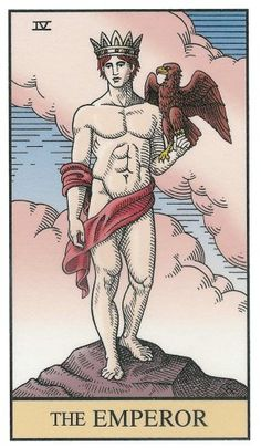 The Emperor from the Alchemical Tarot