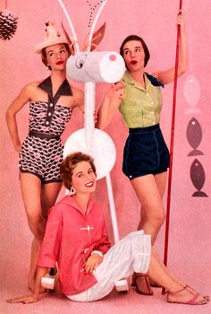 Lovely clothes from the Mid 50s