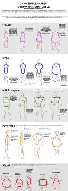How to draw different Body shapes - human anatomy - Drawing Reference Drawing Lessons, Drawing Techniques, Drawing Tips, Drawing Ideas, Drawing Art, Sketch Drawing, Drawing Faces, Human Body Drawing, Manga Drawing