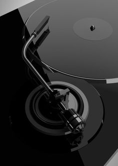 record and turntable in Black. #djculture #turntable http://www.pinterest.com/TheHitman14/dj-culture-vinyl-fantasy/
