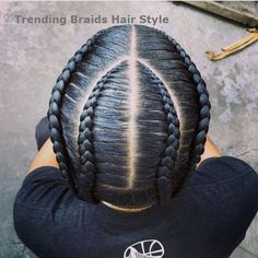 Easy & Trending Braids Hair Style Ideas # cornrows Braids boys Amazing Braid Styles Ideas For Men To Try Box Braids Hairstyles, Kids Braided Hairstyles, Girl Hairstyles, Black Hairstyles, Natural Hair Braids, Braids For Black Hair, Natural Hair Styles, Braid Styles For Men, Braids For Boys