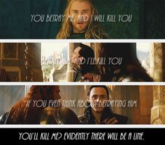 Haha I loved that last line in the movie. Just the way Loki says it.