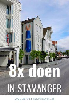 Doen tijdens je rondreis door Noorwegen, breng een bezoek aan Stavanger!  Stavanger is een verrassend leuke bestemming voor een korte stedentrip of als uitvalsbasis voor je hike naar de Preikestolen. Met deze 8 tips word je bezoek aan Stavanger gegarandeerd een succes! #stavanger #noorwegen Norway Travel Guide, Stavanger, Ultimate Travel, Where To Go, Finland, Denmark, Dutch, Cities, Road Trip