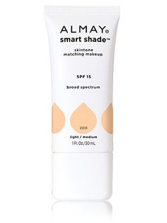 """Almay Smart Shade skintone matching makeup. For a """"no makeup"""" look, this moisturizer is perfect. I have never worn a product that matches my skin tone so perfectly--it literally disappears. The cream is moisturizing, but provides light coverage--don't expect to conceal everything. However, it's perfect for on the go if you can only take one product with you! I wear Light/Medium."""