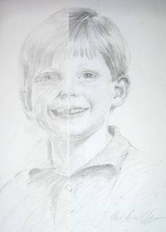 Year 7 Pencil portrait drawing